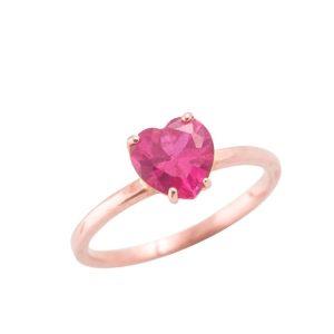 anello-cuore-rosso-rosa