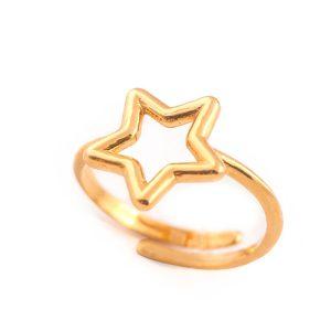 anello-stella-oro