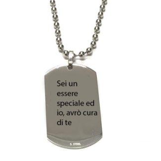 Sei un essere speciale ed io, avrò cura di te
