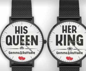 orologio personalizzabile