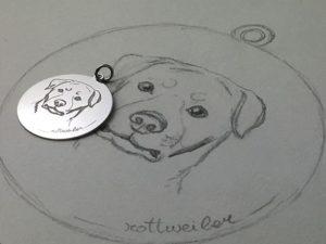 ciondolo-cane-rotweiler