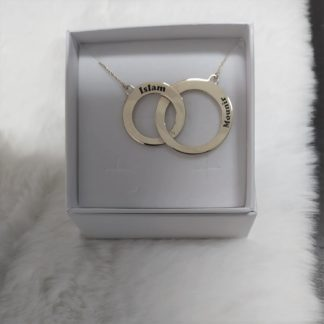 collana eternity argento 925