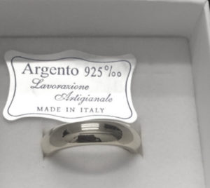 fede in argento 925