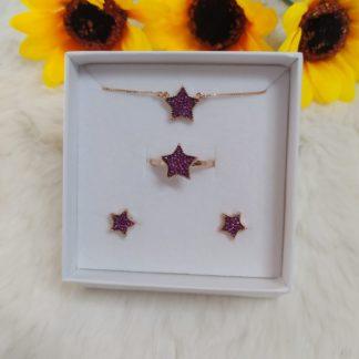 set red star argento 925