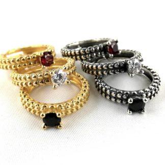 anello berlino argento oro