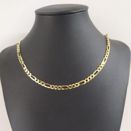 collana grumetta in argento placcato oro